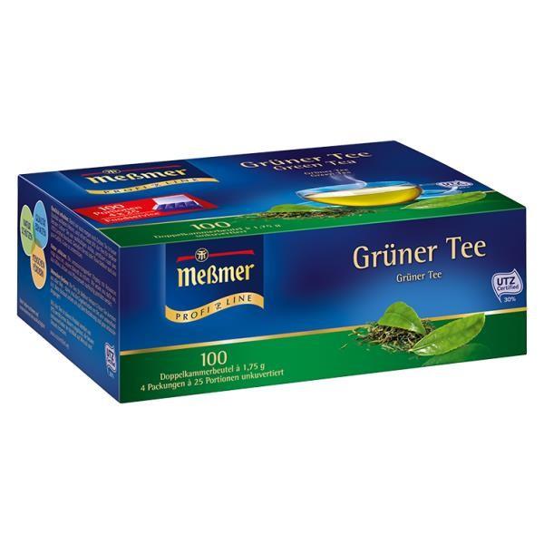 Meßmer Grüner Tee 100 x 1,75g Tassenportion | CaterPoint.de