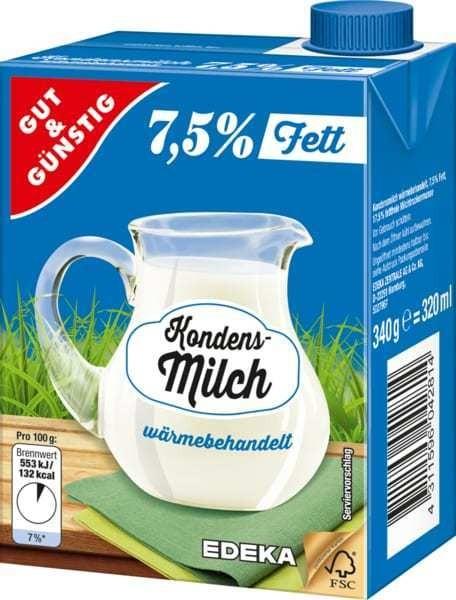 Kondensmilch 7,5% 340g | CaterPoint.de
