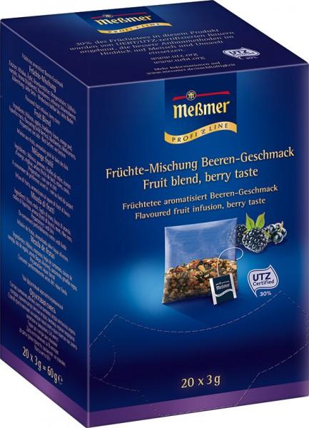 MEßMER ProfiLine Kissen -  Früchte-Mischung mit Beeren-Geschmack 20 x 3,00g  | CaterPoint.de