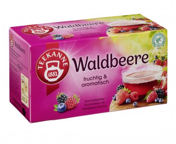 Teekanne Waldbeere 20 x 2,5g Tassenportion | CaterPoint.de
