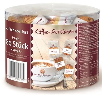 Gruyters Gemischte Kaffee Portionen 80 Stück   CaterPoint.de