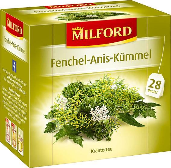 Milford Fenchel-Anis Kümmel 6x28x2g Tassenportion | CaterPoint.de