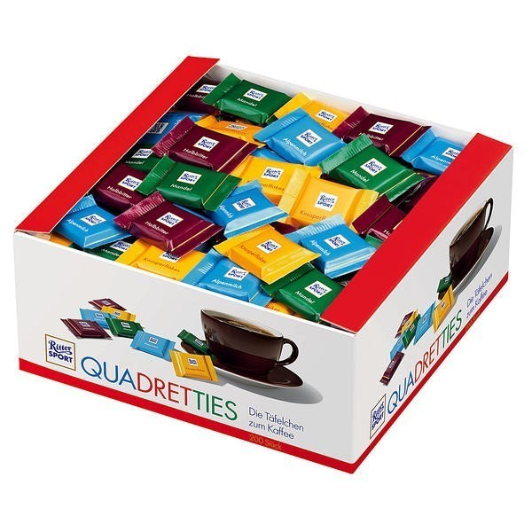 Ritter Sport Quadretties 200 x 5g