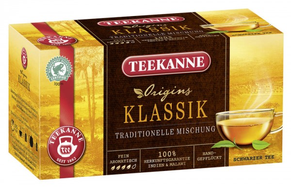Teekanne Klassisch 20 x 1,75g Tassenportion | CaterPoint.de