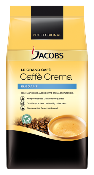 Jacobs Le Grand Café Crema Ganze Bohne 1000g | CaterPoint.de
