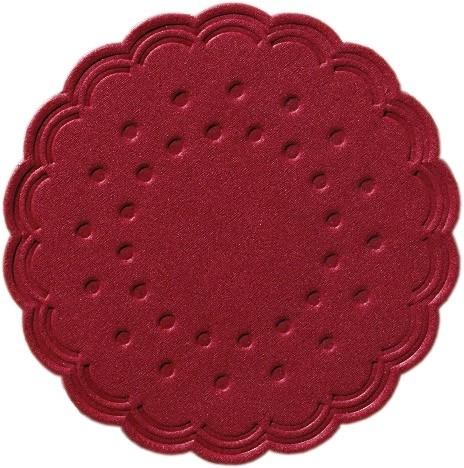 Duni Tassendeckchen bordeaux - 250 Stück