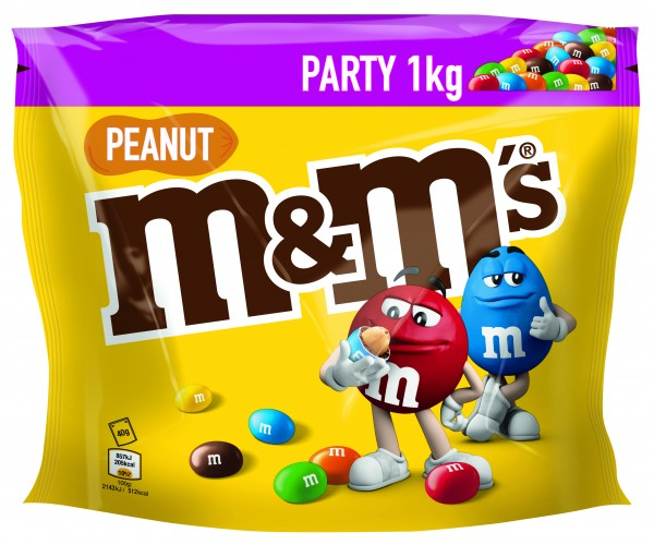 m&m´s Peanut 1.000g Beutel | CaterPoint.de