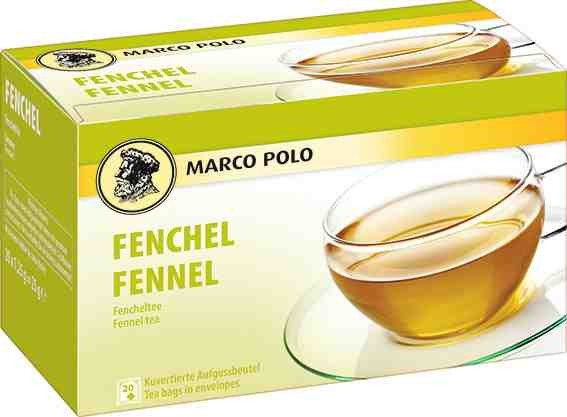 MARCO POLO Fenchel Tee 20 x 1,75g Tassenportion | CaterPoint.de