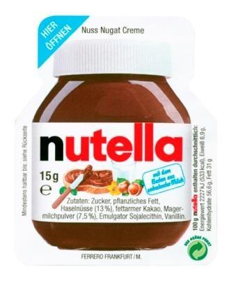 Nutella 40 x 15g per Karton | CaterPoint.de