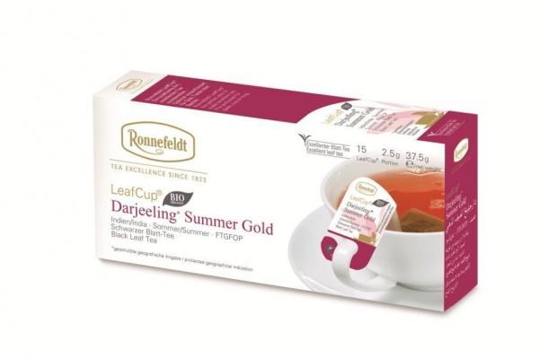 Ronnefeldt LeafCup® Darjeeling Summer Gold 15 x 2,5g   CaterPoint.de
