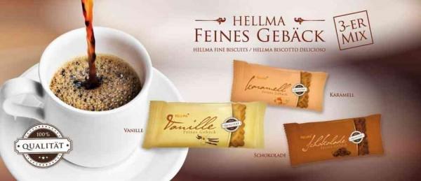 HELLMA Feines Gebäck – 3er Mix 200 Stück sortiert