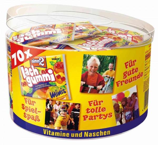 nimm2 - Lach Gummi 70 x 10g in Runddose