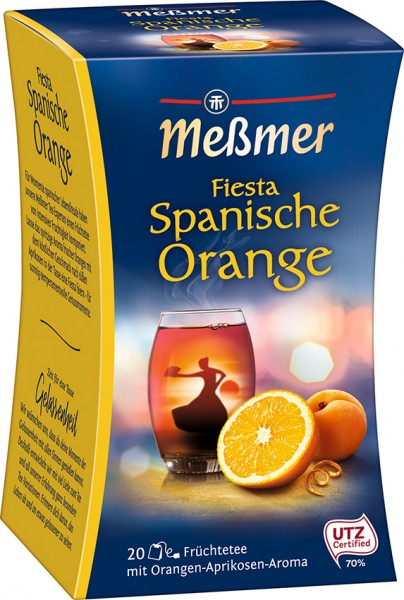 Meßmer Spanische FIESTA Orange-Aprikose 20 x 2,5g Tassenportion