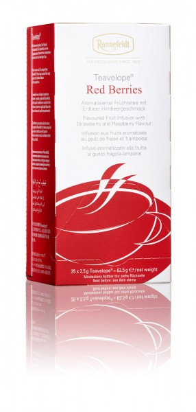 Teavelope® Red Berries 25 x 2,5g