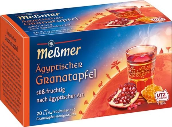 Meßmer Ägyptische Granatapfel 20 x 2,5g Tassenportion   CaterPoint.de