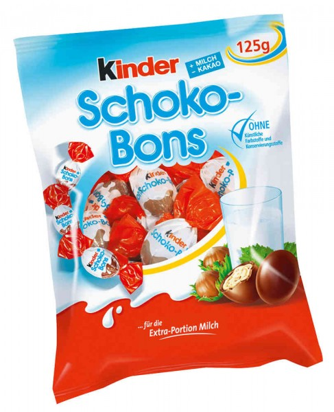 Kinder Schoko-Bons 125g Beutel