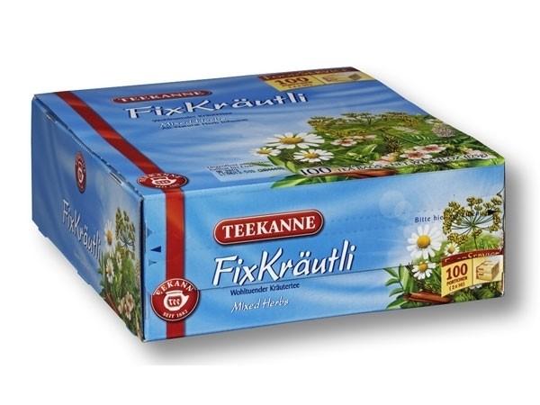 Teekanne 8 Kräuter 100 Tassenportionen
