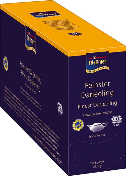 "Meßmer ""Tea Buddy"" Darjeeling 15 x 4g 