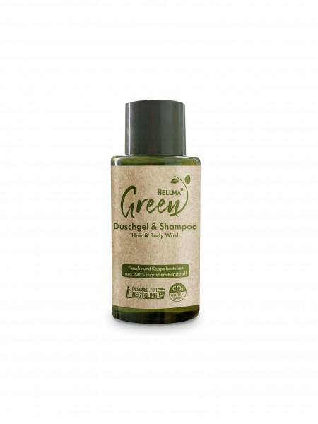 Hellma Green Duschgel & Shampoo 50 x 30ml | CaterPoint.de