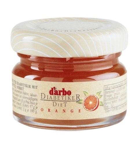 Darbo (Zuckerarm) Orangen Marmelade 60 x 28g | CaterPoint.de