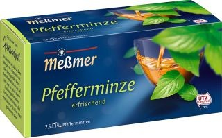 Meßmer Pfefferminze 25 x 2,25g Tassenportion | CaterPoint.de