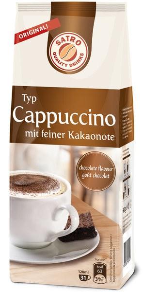 SATRO Typ Cappucciono-mit feiner Kakaonote - 500g