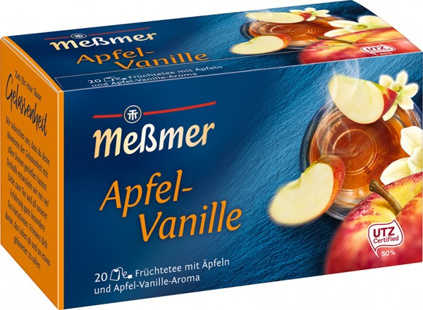 Meßmer Apfel-Vanille - 20 x 2,75g  Tassenportion | CaterPoint.de