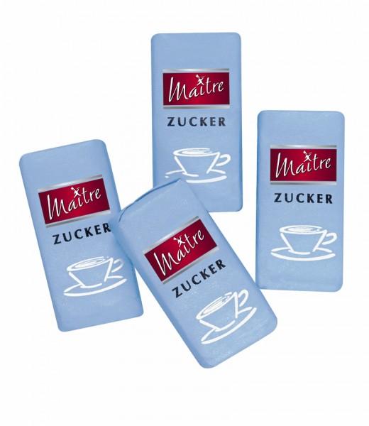 Maitre Würfelzucker 1000 x 4,4g Karton