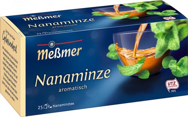Meßmer Nanaminze 25 x 1,75g Tassenportion | CaterPoint.de