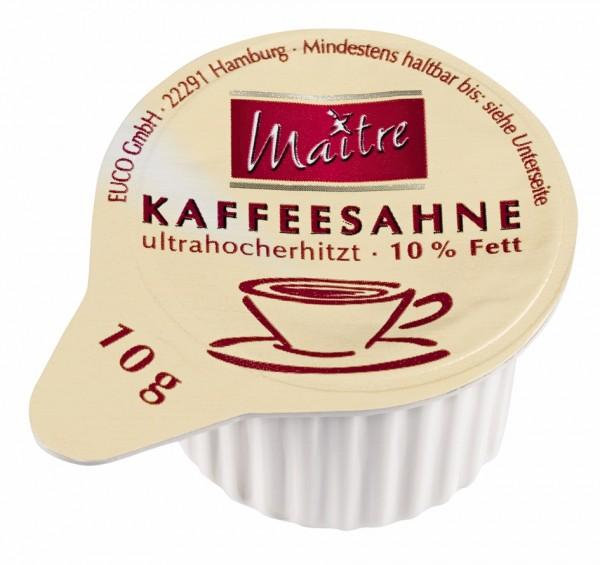 Maitre Kaffeesahne 10% 240 x 10g