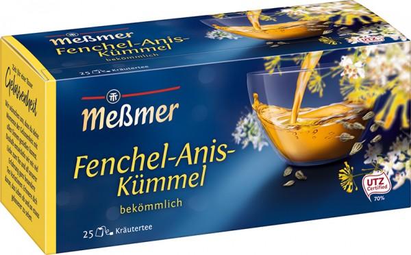 Meßmer Fenchel-Anis-Kümmel 25 x 2,0g Tassenportion | CaterPoint.de