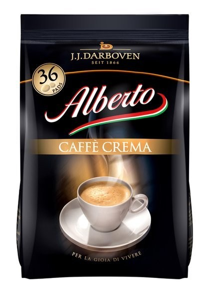Alberto Caffe Crema Pads 36 Stück