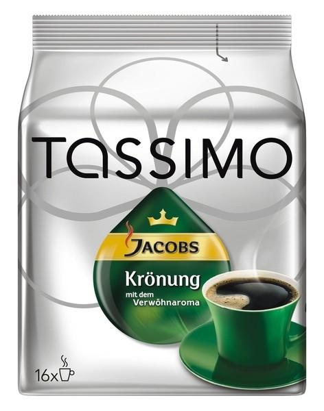 5 x Jacobs Tassimo Krönung 16 x 1 Stück