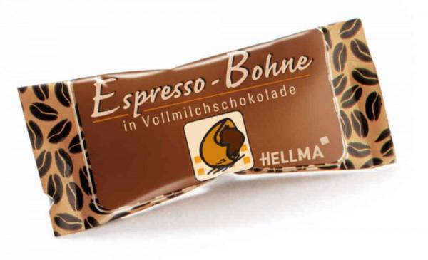 Hellma Espresso-Bohne in Vollmilchschokolade 380 Stück | CaterPoint.de