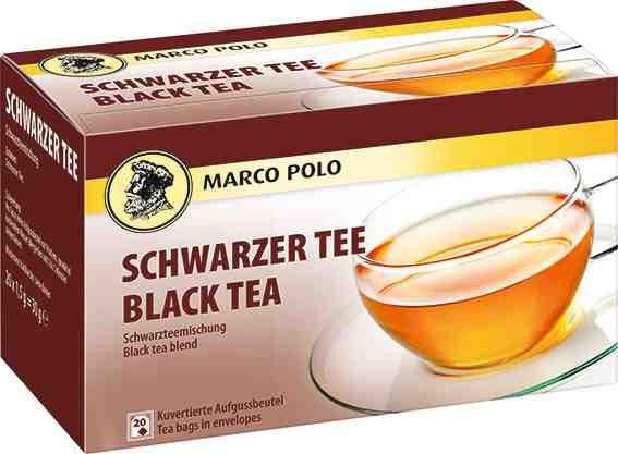 MARCO POLO Schwarzer Tee 20 x 1,5g Tassenportion | CaterPoint.de