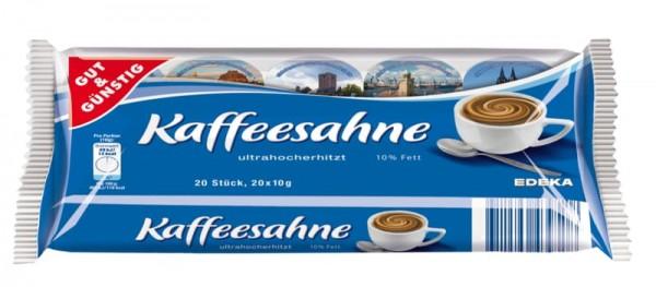 Kaffeesahne 10% 20 x 10g