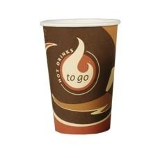 Pappbecher für Kaffeegetränke 0,3l 50 Stück