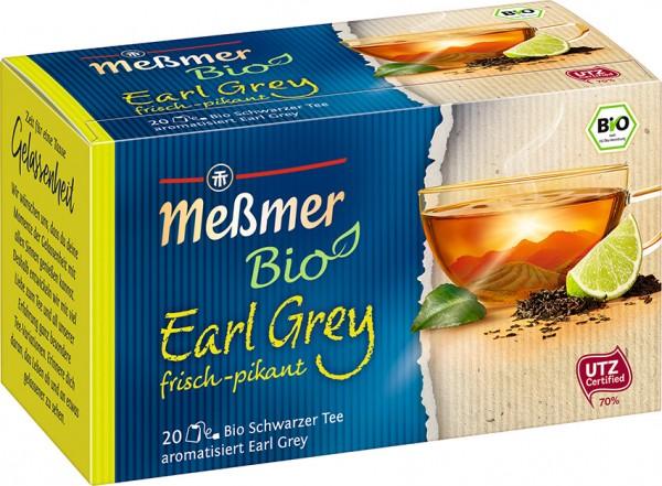 Meßmer BIO Earl Grey 20 x 1,75g Tassenportion | CaterPoint.de