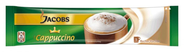 Jacobs Cappuccino 84 x 11g Portionsstick