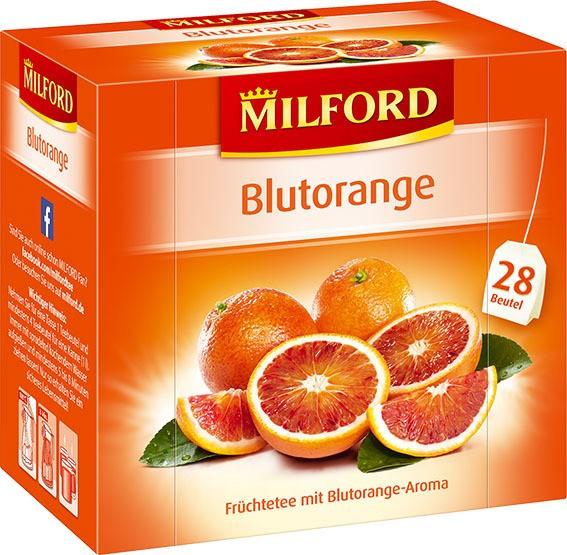 Milford Blutorange 6x28x2,25g Tassenportion | CaterPoint.de