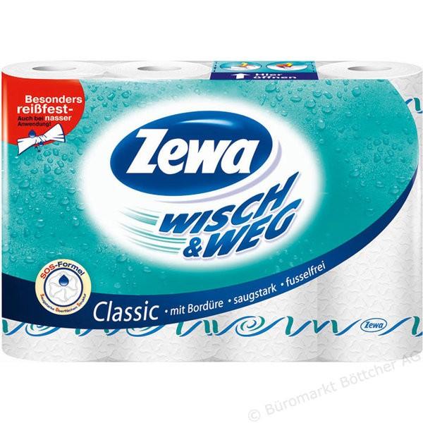 Zewa Wisch & Weg Küchentücher 8er Pack