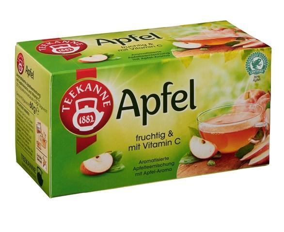 Teekanne Apfel 20 x 3,0g Tassenportion | CaterPoint.de
