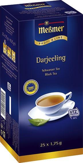 Meßmer ProfiLine Darjeeling 25 x 1,75g | CaterPoint.de