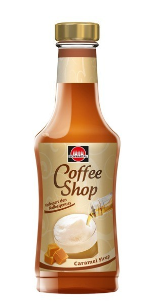 Schwartau Coffee Shop Caramel Sirup 200ml Flasche