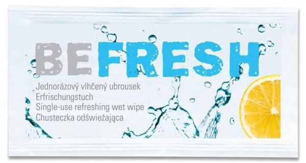 Hellma Be Fresh Erfrischungstücher 400 Stück | CaterPoint.de