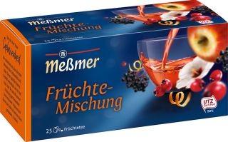 Meßmer Früchte Tee 25 x 3,0g Tassenportion | CaterPoint.de