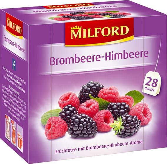 Milford Brombeere-Himbeere 6x28x2,25g Tassenportion
