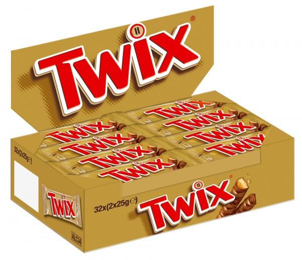 Twix® 32 x 50g Thekendisplay