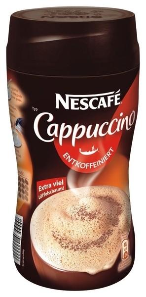 "Nescafe Cappucciono ""Entkoffeiniert"" 250g Dose"