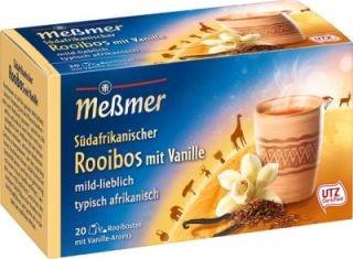Meßmer Südafrikanischer Rooibos-Vanille 20 x 2g Tassenportion | CaterPoint.de
